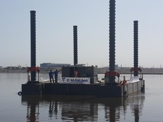 Modular Jack Up Barge - Z Makina Teknolojisi A Ş